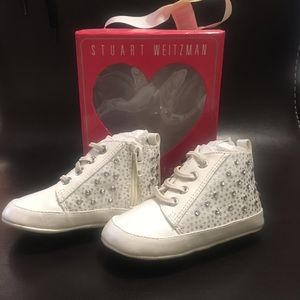 Stuart Weitzman Baby Shoes NEW in Box!!